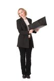 Femme #5 d'affaires image stock