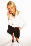 Femme 5 d'affaires images stock