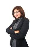 Femme 5 d'affaires image libre de droits