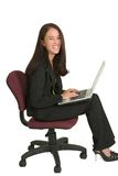 Femme #541 d'affaires photo libre de droits