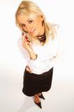 Femme 8 d'affaires photo stock