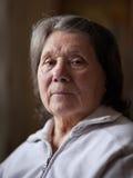 Femme aîné Photos libres de droits
