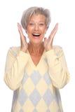 Femme aîné Photos stock