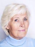 Femme aîné Photographie stock