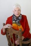 Femme aîné Images libres de droits