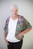 Femme aîné Photo libre de droits