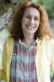 Femme aînée attirante photo libre de droits