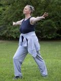 Femme aînée en bonne santé Photos stock