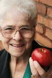 Femme aînée en bonne santé Image libre de droits