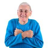 Femme aînée heureuse Images libres de droits