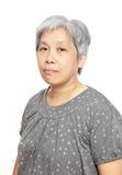 Femme aînée occasionnelle Images libres de droits
