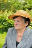 Femme aînée - verticale Photo libre de droits