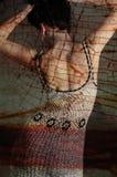 femme abstraite de verticale Photographie stock