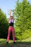 Femme actif Photos stock