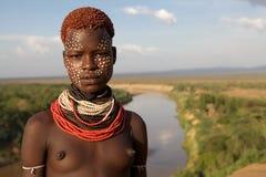 Femme africaine Images libres de droits