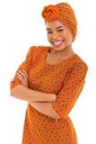 Femme africaine magnifique photo libre de droits