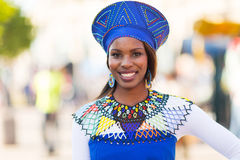 Femme africaine traditionnelle Photo libre de droits
