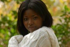 Femme afro-américain Photos stock