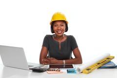 Femme afro-américaine d'affaires images libres de droits