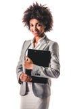 Femme afro-américaine d'affaires image libre de droits