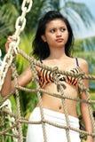 Femme asiatique photographie stock