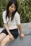 Femme asiatique Images libres de droits