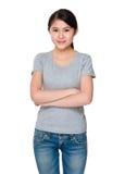 Femme asiatique image stock