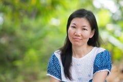 Femme asiatique Photos libres de droits