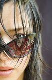 Femme asiatique photo stock