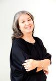 Femme asiatique aînée Images stock