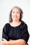 Femme asiatique aînée Images libres de droits