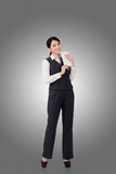 Femme asiatique confiante d'affaires Images stock