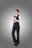 Femme asiatique confiante d'affaires Photo stock