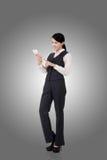 Femme asiatique confiante d'affaires Photo libre de droits