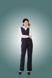 Femme asiatique confiante d'affaires Photos libres de droits