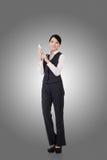 Femme asiatique confiante d'affaires Photographie stock
