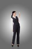 Femme asiatique confiante d'affaires Photos stock