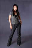 Femme asiatique d'affaires Photographie stock libre de droits