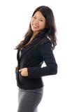 Femme asiatique d'affaires photos stock