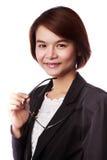 Femme asiatique d'affaires Image libre de droits