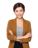 Femme asiatique d'affaires images stock