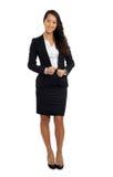 Femme asiatique d'affaires dans le costume Photos stock