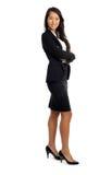 Femme asiatique d'affaires dans le costume Images stock