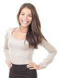 Femme asiatique de femme d'affaires de beauté Photo stock