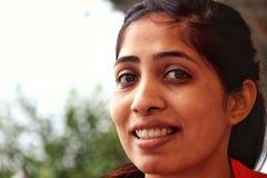 Femme asiatique de sourire Images libres de droits