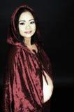 Femme asiatique enceinte Image stock