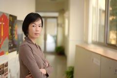 Femme asiatique mûre Photos libres de droits