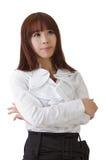 Femme asiatique réussie d'affaires Photos stock