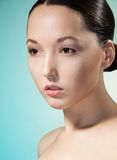 Femme assez asiatique Photo stock