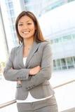 Femme assez asiatique d'affaires Image libre de droits